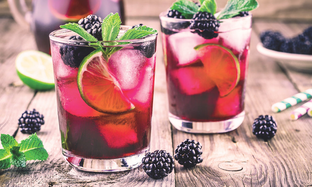 Blackberry Sweet Tea Sangria Recipe