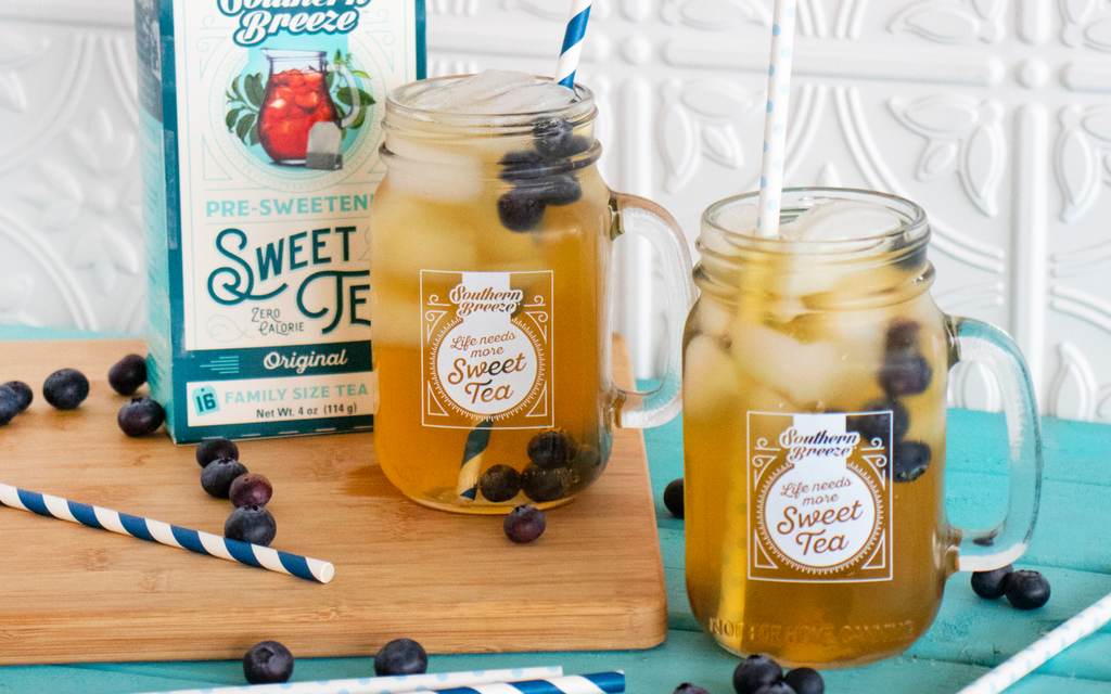 Blueberry Sweet Tea Refresher Recipe