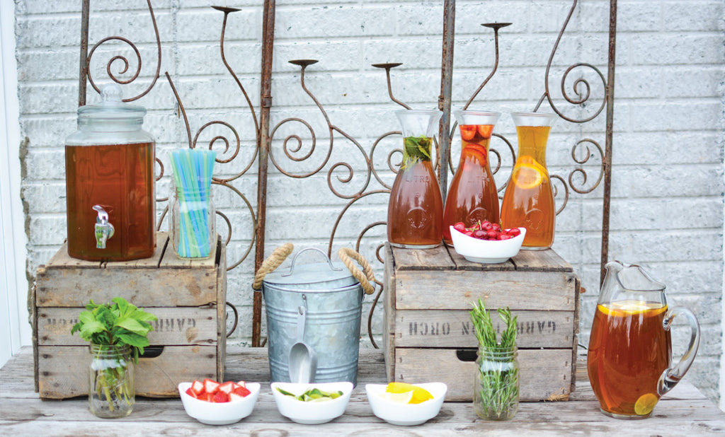 DIY Iced Tea Bar