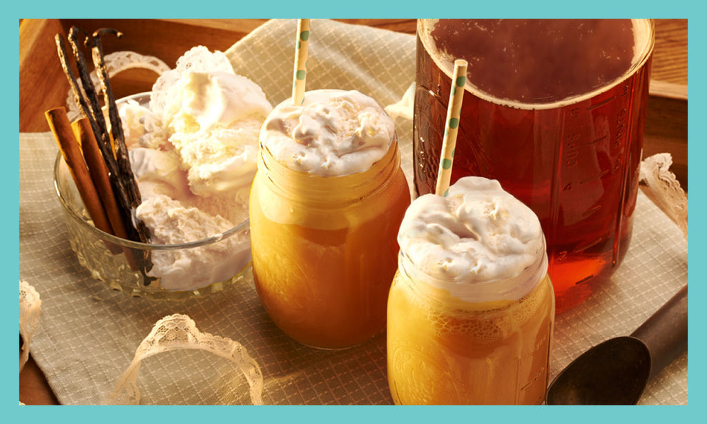 Sweet Tea Ice Cream Float