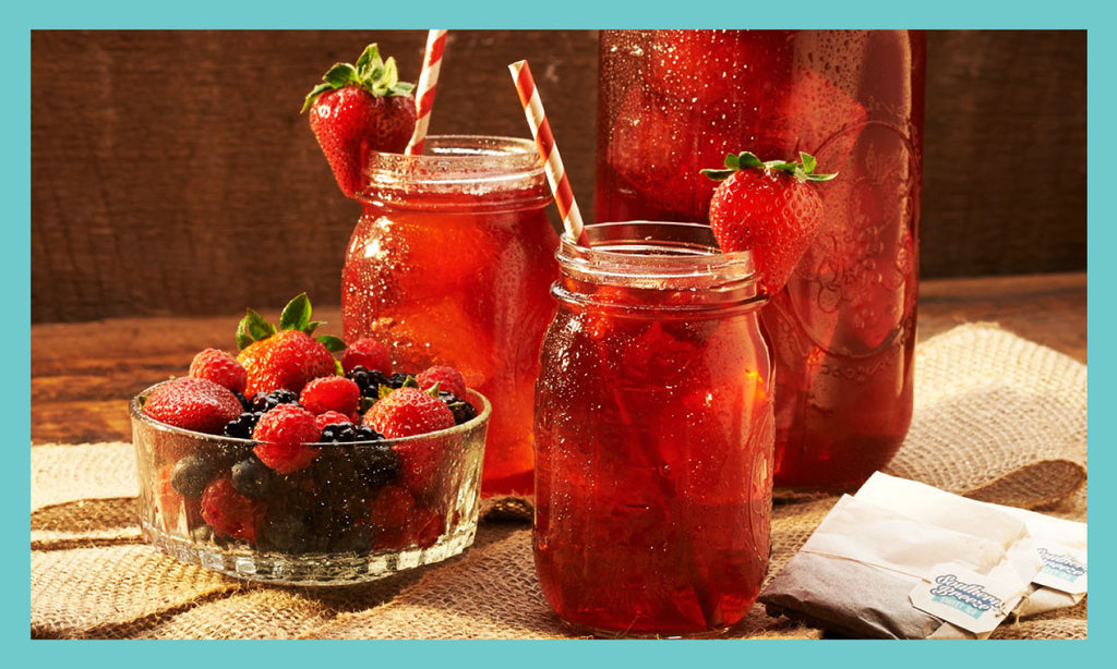 Mixed Berry Sweet Tea Recipe