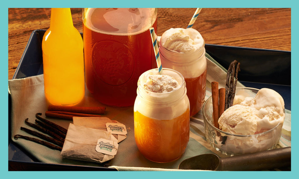 Orange Cream Sweet Tea Float Recipe