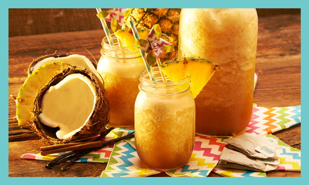 Pina Colada Sweet Tea Slush