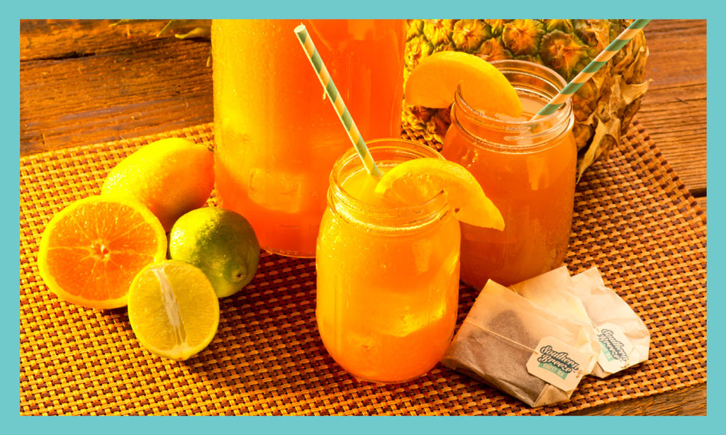Pineapple Citrus Sweet Tea Recipe
