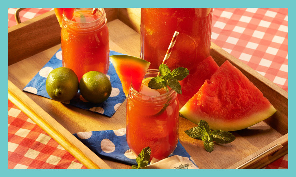 Skinny Watermelon Sweet Tea Recipe
