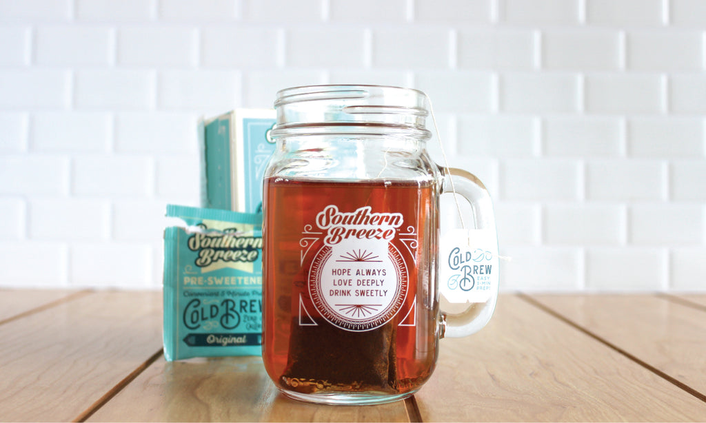 How to Brew Cold Brew Sweet Tea