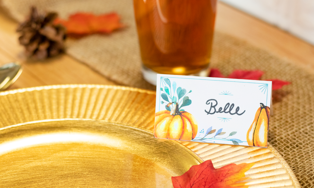 Thanksgiving Place cards: FREE Printable