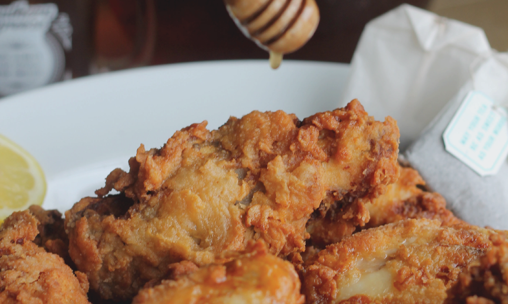 Sweet Tea Fried Chicken and Bourbon Glaze Recipe
