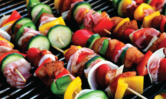 3 Healthy Kabob Recipes