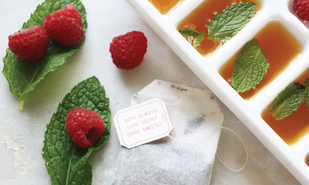 Sweet Tea Ice Cube Recipe