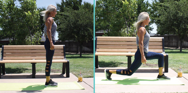 6 minute workouts lunges