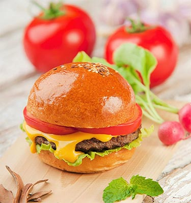Low-Cal Cheeseburger
