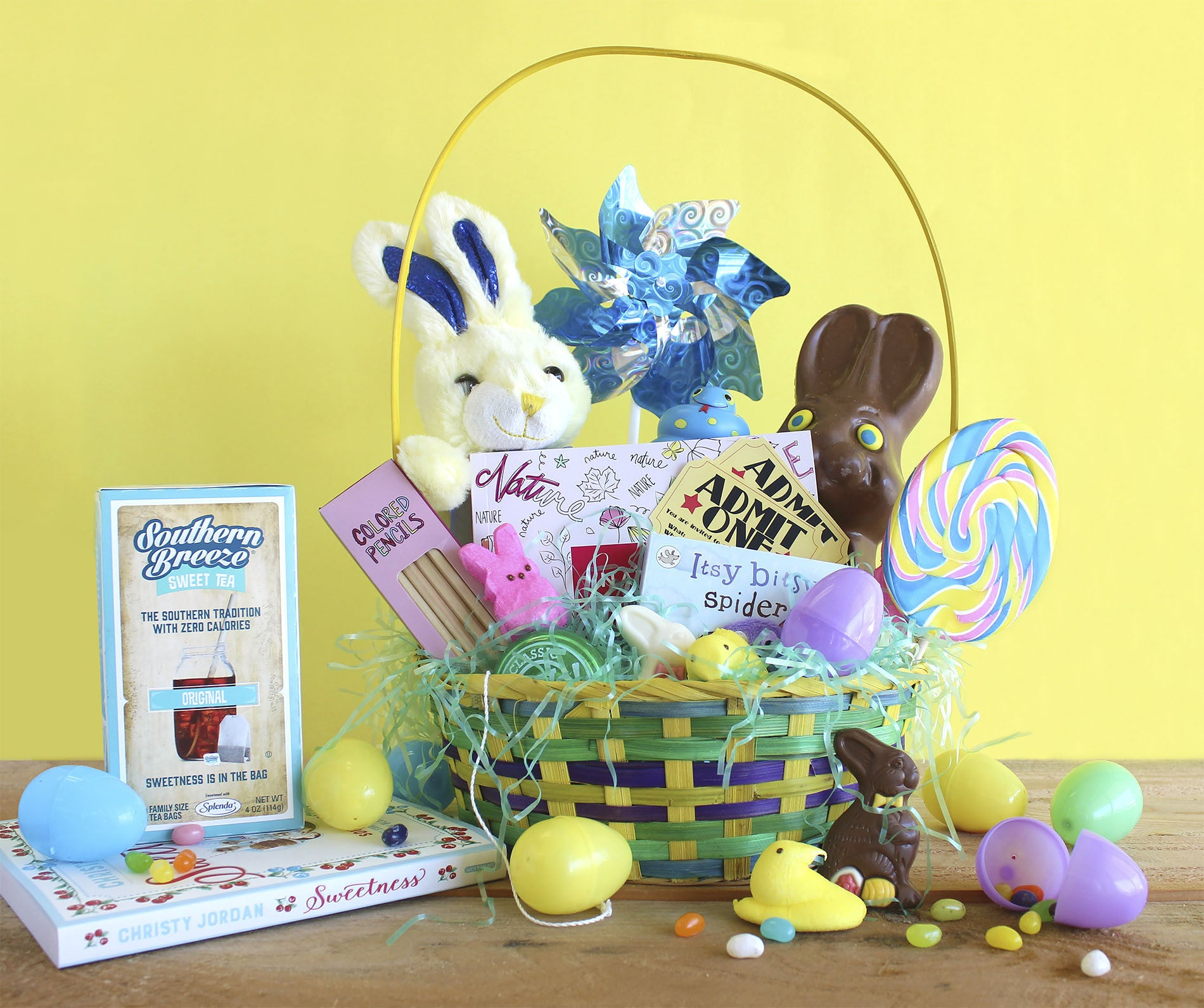 Easter basket essentials southern breeze sweet tea there you have it yall our easter basket essentials easy right what are some of your easter basket favorites tell us in the comments below negle Choice Image