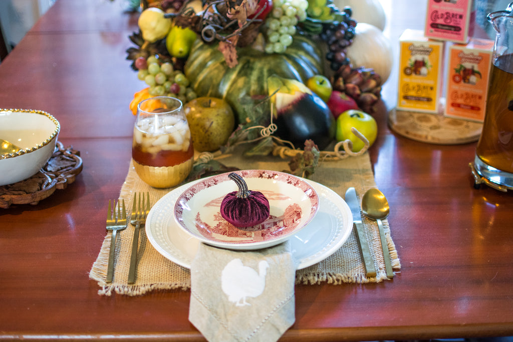 Dishware for Tara Butler's Perfect Fall Table