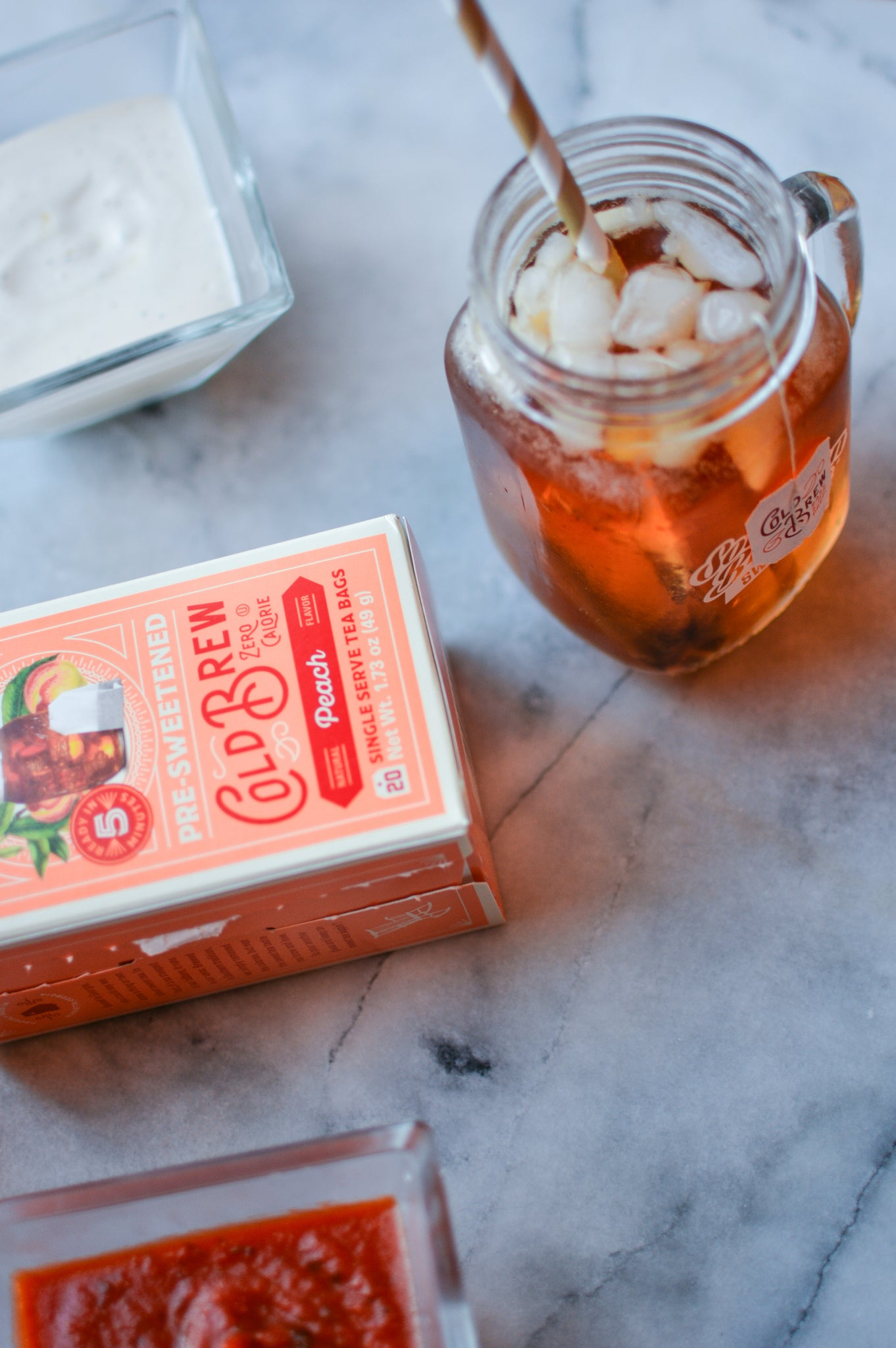 zero calorie sweet tea cold brew