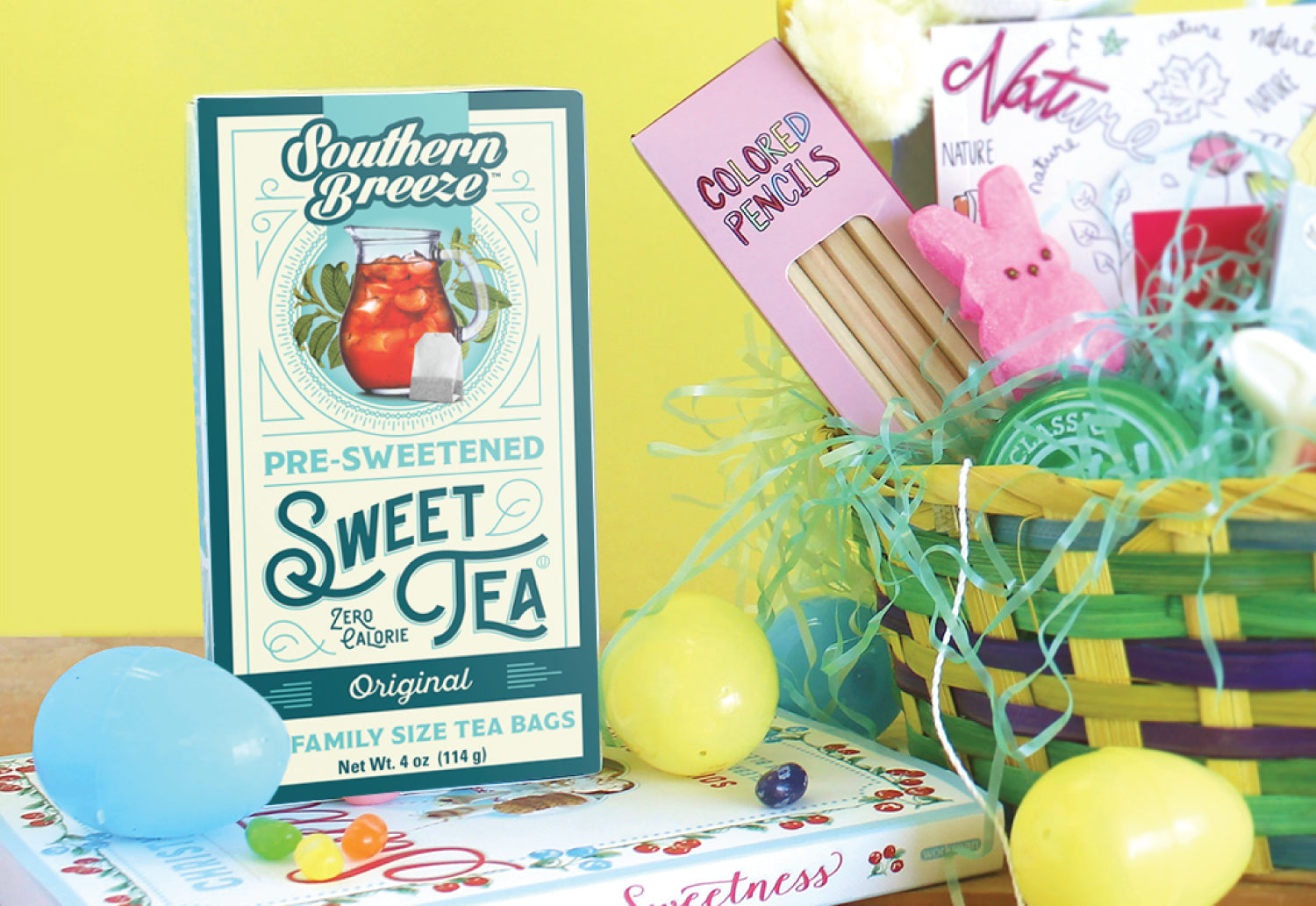 Southern Breeze Sweet Tea Easter Basket