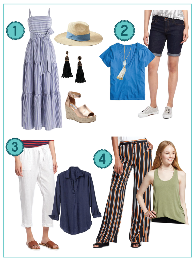 Outfit Ideas for How to Stay Cool in the Heat