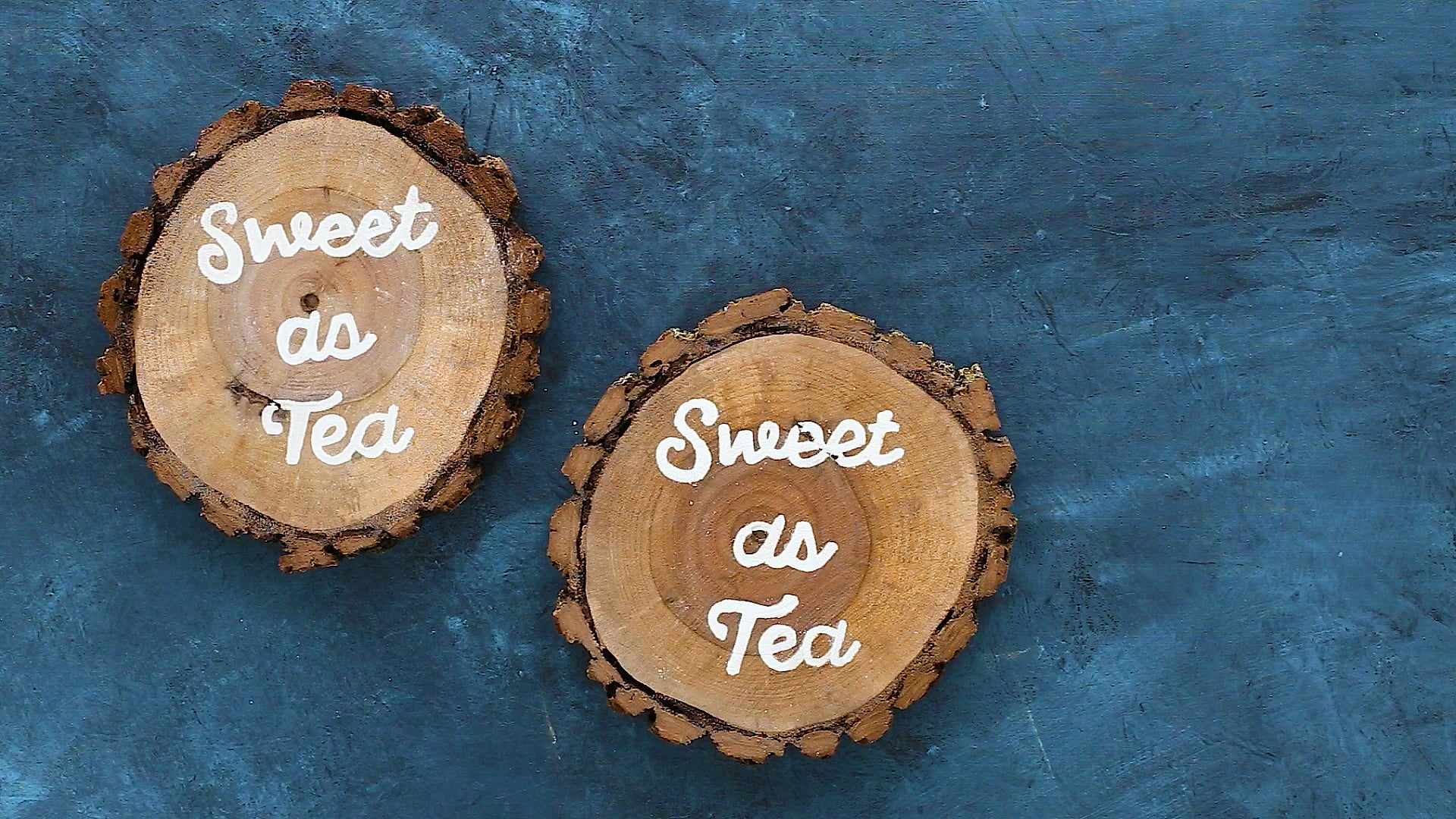 Let Paint Dry on DIY Wood Coasters