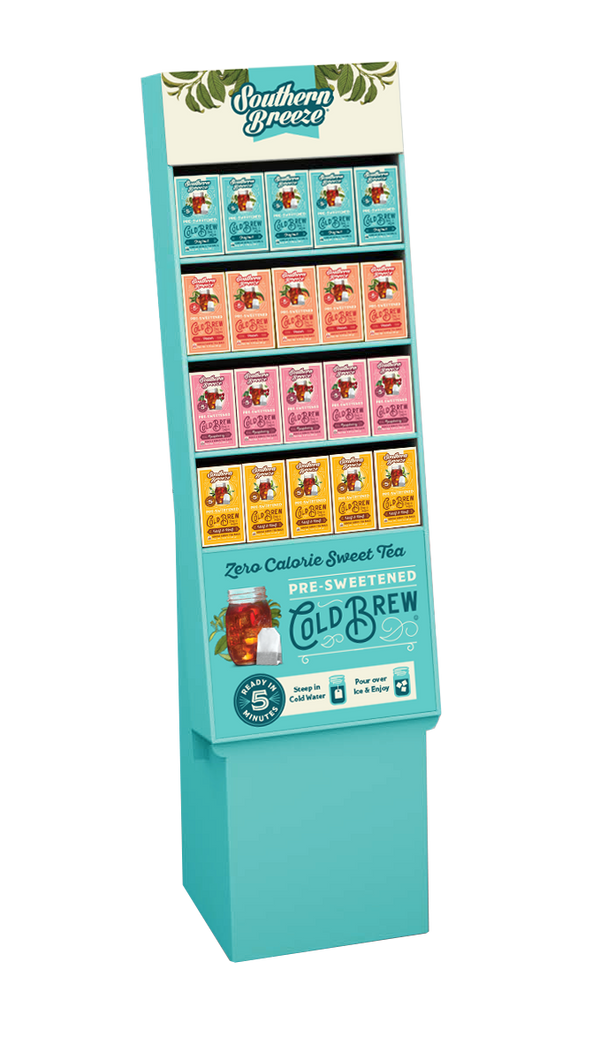 Cold Brew Sweet Tea Display (40 Boxes)