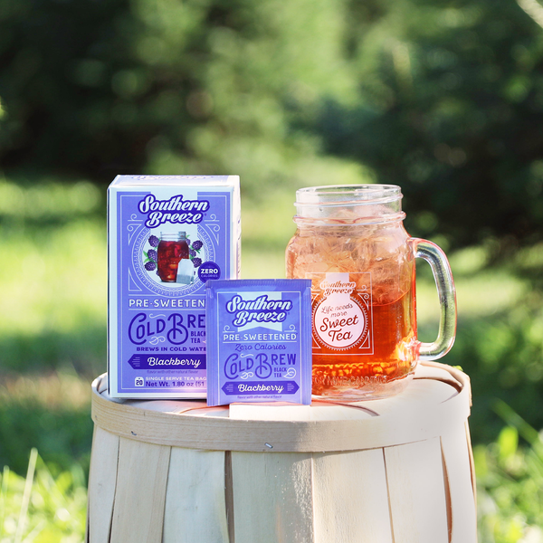 Blackberry Cold Brew Sweet Iced Tea