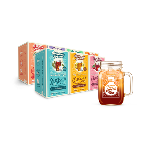 Cold Brew Sweet Tea Bundle with Mason Jar