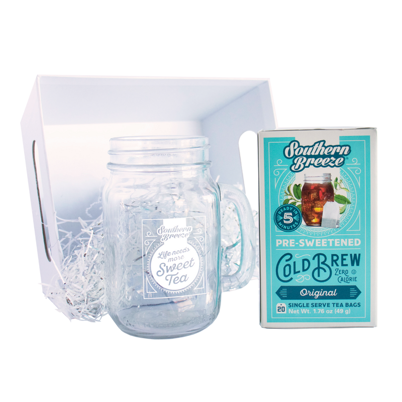 Sweet Tea & Mason Jar Gift Basket