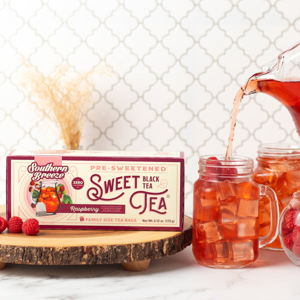 Raspberry Sweet Iced Tea