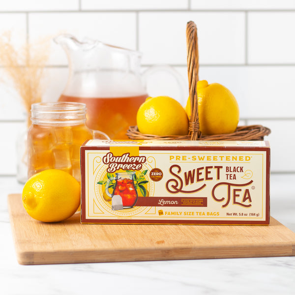 Lemon Sweet Iced Tea