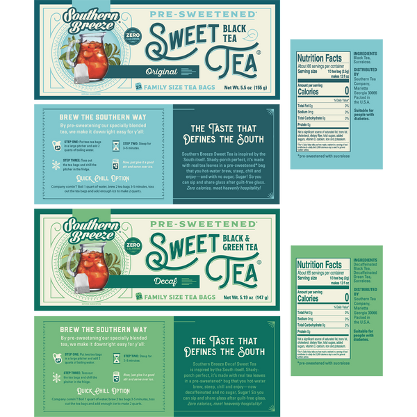 Day and Night Family Size Sweet Iced Tea Bundle