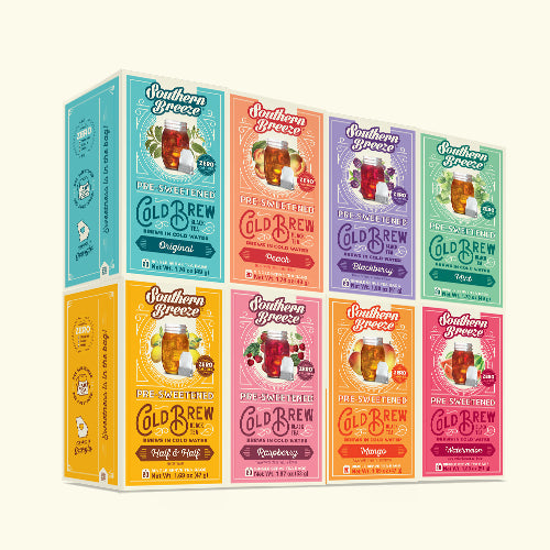 Cold Brew Sweet Iced Tea Bundle 8 Pack