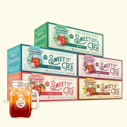 Family Size Sweet Tea & Mason Jar Bundle