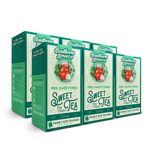 Decaffeinated Iced Sweet Tea - 6 Pack