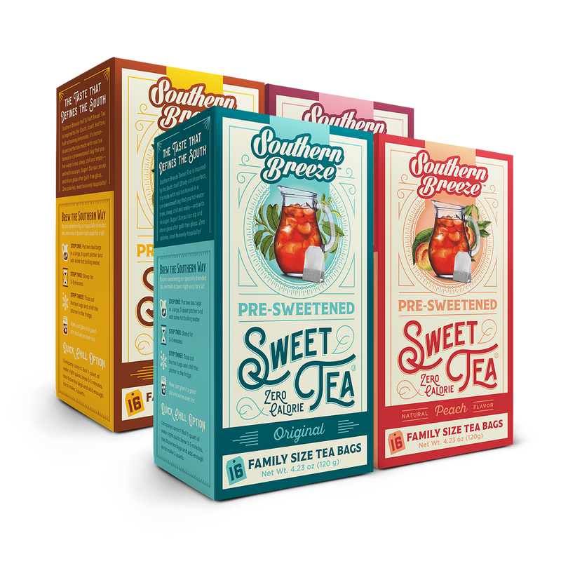 Family Size Sweet Iced Tea Bundle 4 pack