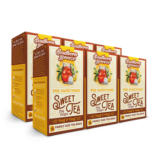 Half & Half Iced Sweet Tea - 6 Pack