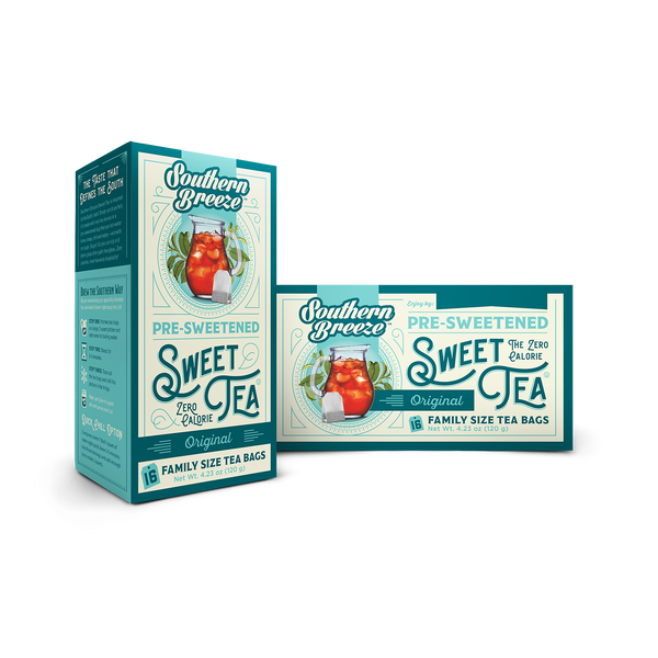 Original Iced Sweet Tea - Front and back
