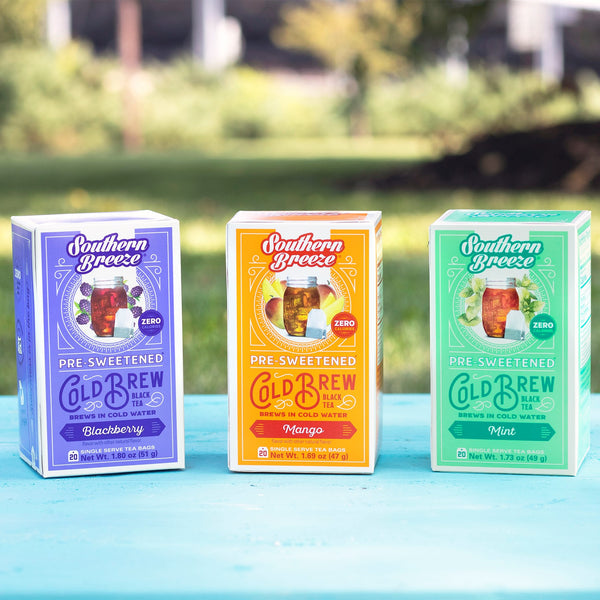 New Flavors Cold Brew Sweet Iced Tea Bundle