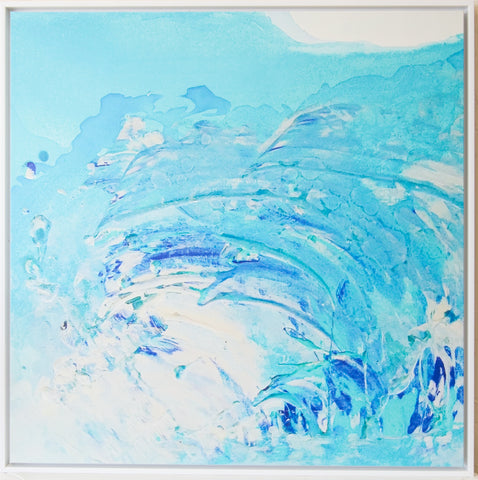 crashing wave wall art limited edition print