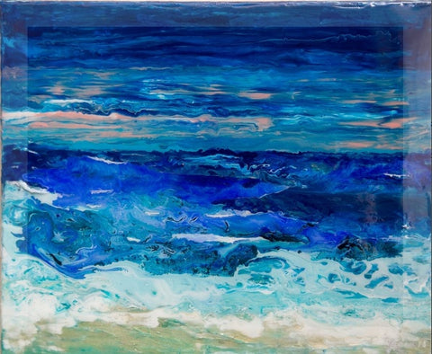 Ocean Art Beach Candy Original Painting Limited Edition Print of OCEANS Series