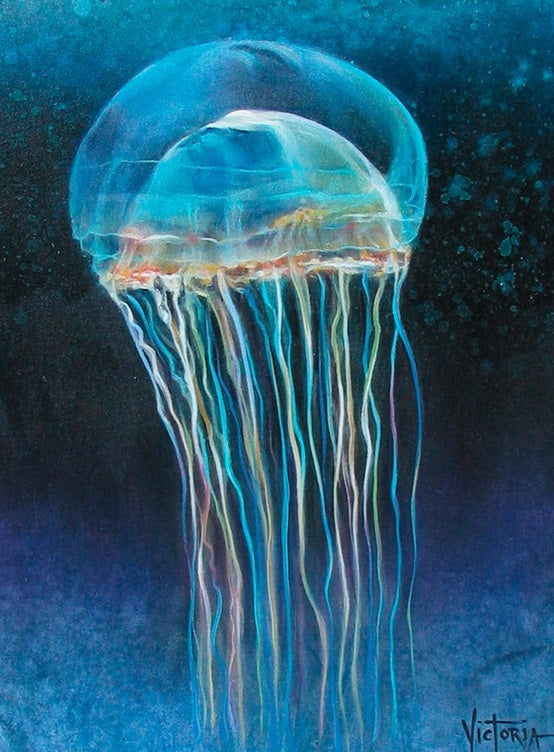 Crystal Jelly - Original Oil Painting