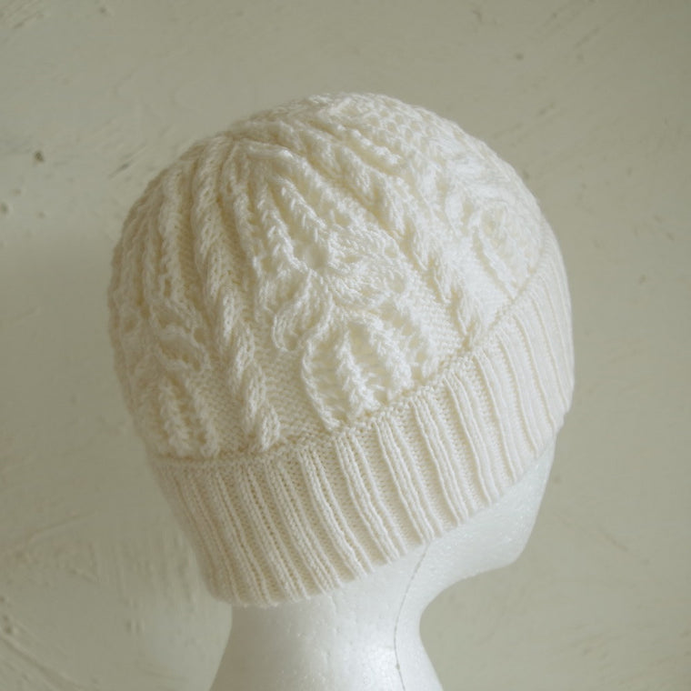 "Knitting pattern ""Water Lily"" hat"