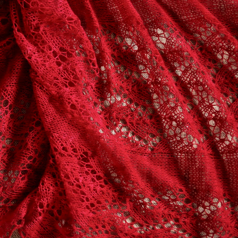 "Knitting pattern for a lace shawl ""Pure and Simple"""
