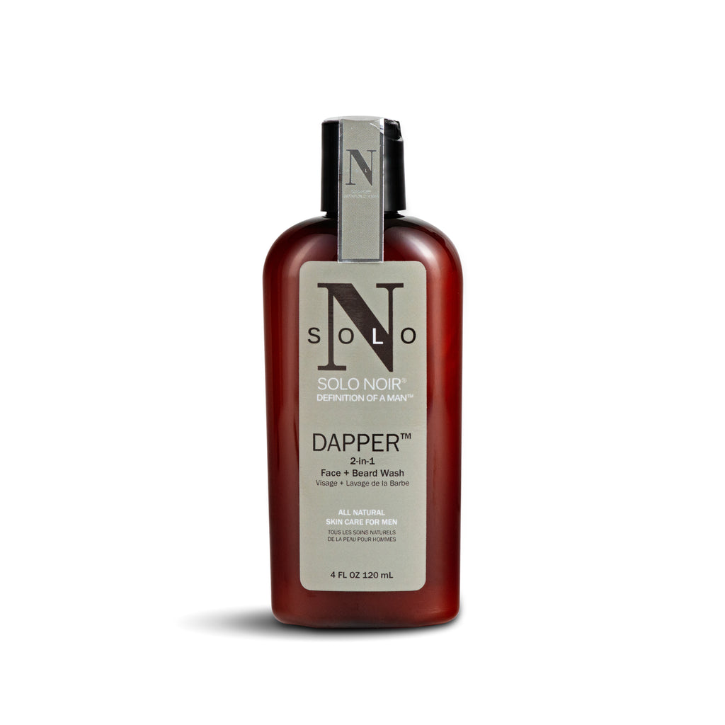 """Dapper™ "" All Natural Face + Beard Wash"