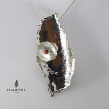 Never forgotten Sterling Silver and Copper Pendant