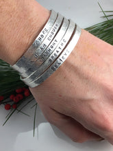 Sterling Silver Intention Bracelet