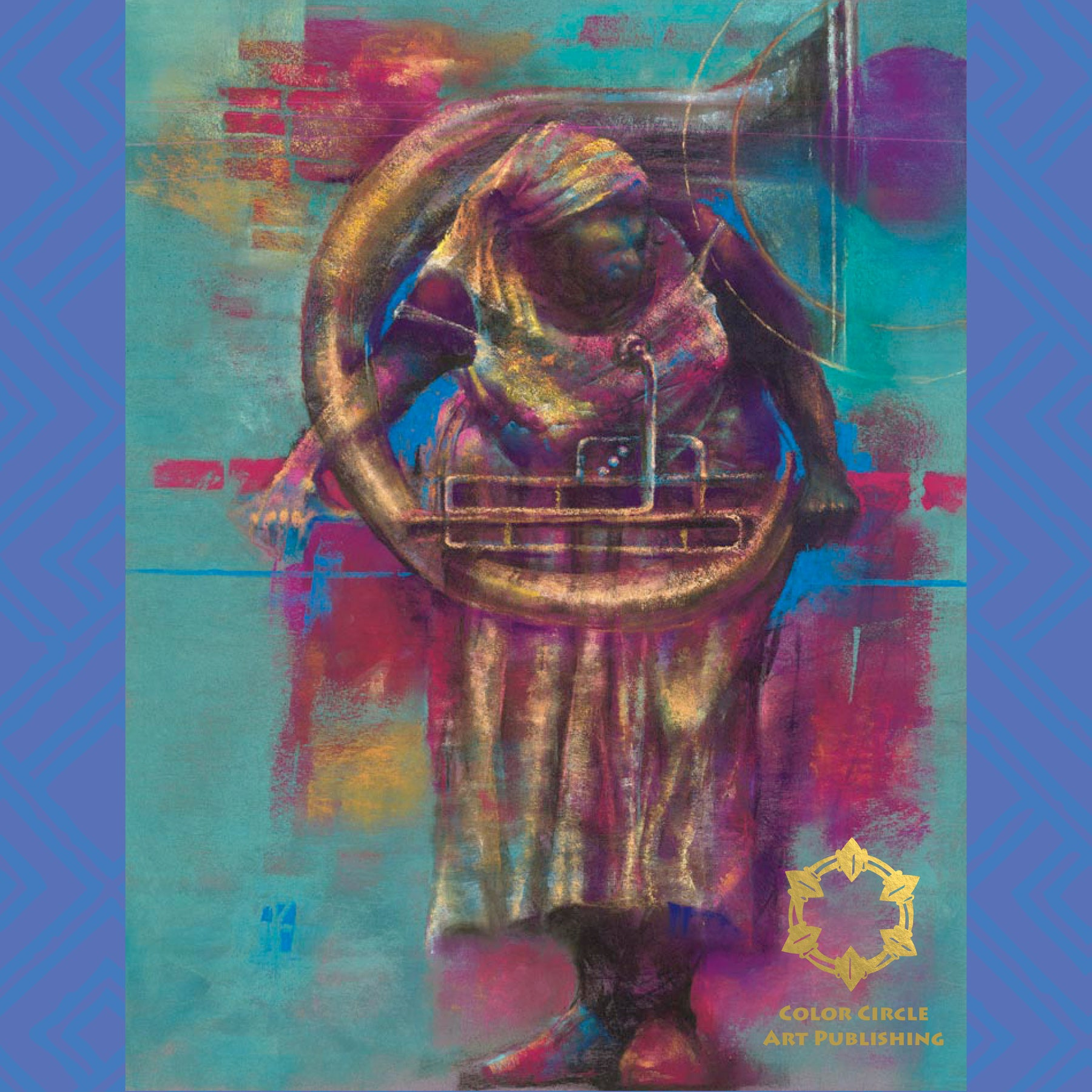 Color circle art publishing -  Tuba By Paul Goodnight