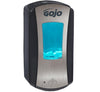 1919-04 GOJO® LTX-12™ Dispenser, Brushed Chrome/Black - Sentinel Laboratories Ltd