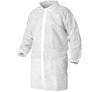 KLEENGUARD* A10 Light Duty Visitor Coat - White