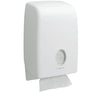 6945 AQUARIUS* Folded Hand Towel Dispenser, Interleaved - White - Sentinel Laboratories Ltd