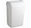 6993 AQUARIUS* Washroom Bin/Disposer - White - Sentinel Laboratories Ltd