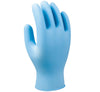 8005 N-Dex Plus Lightly Powdered Blue Nitrile Gloves - Sentinel Laboratories Ltd